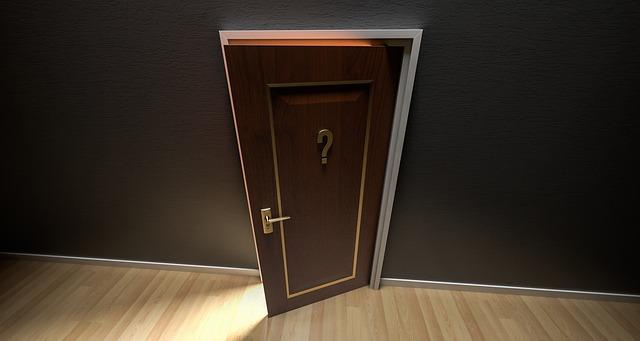 mystery door